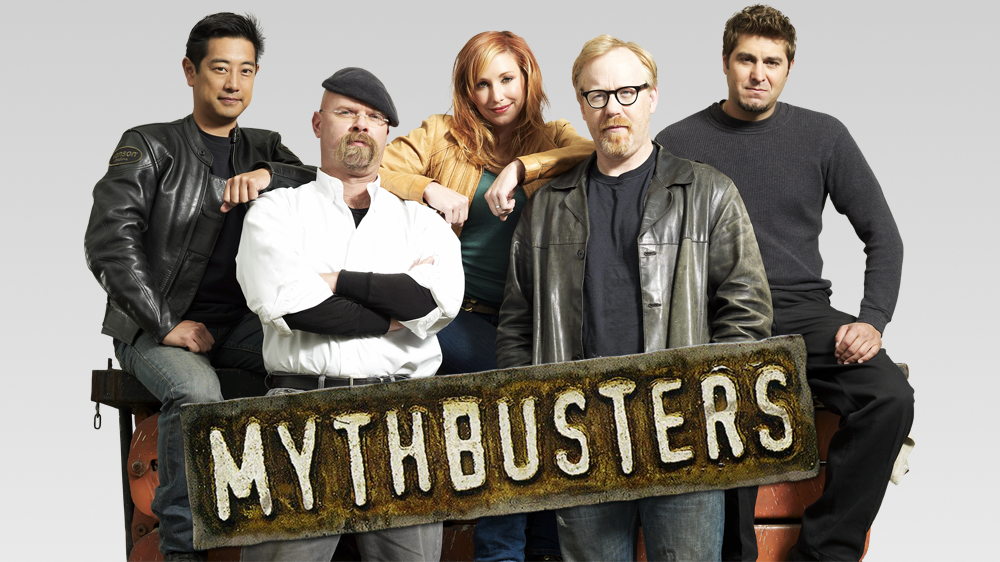 Team from TV Show Mythbusters